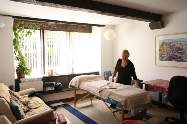 Holistic massage and acupuncture with Sandra Baillie
