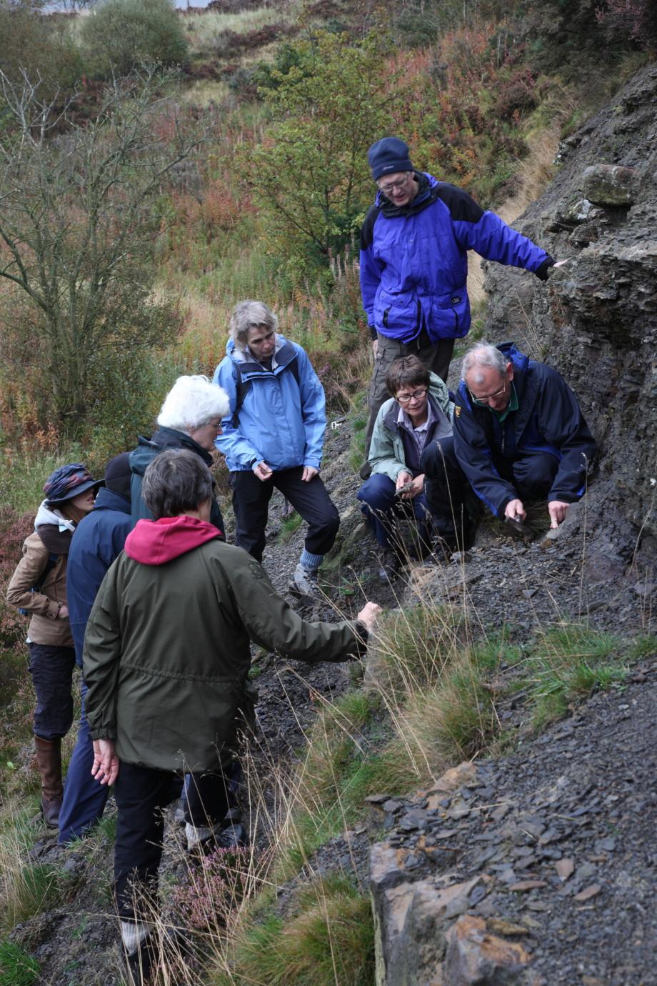 Walking & Geology workshop, 2011