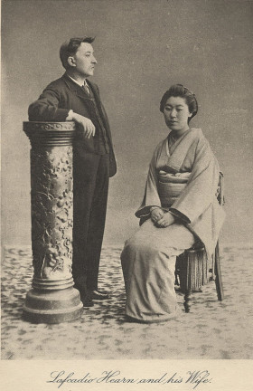 StormyHouse_LafcadioHearn&Wife